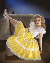 This is an image of Prints & Posters of June Haver 201072