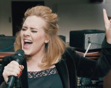 This is an image of Prints & Posters of Adele 201296