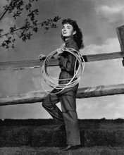 This is an image of Prints & Posters of Ann Blyth 104061