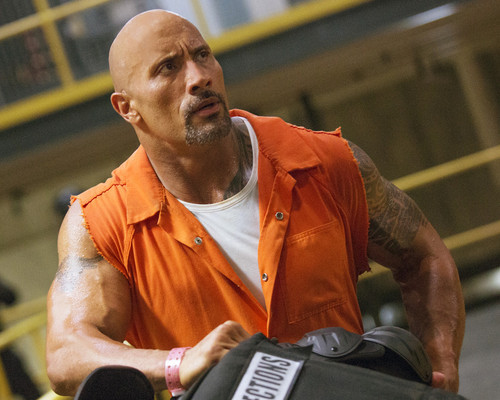 This is an image of Prints & Posters of Dwayne Johnson 201427
