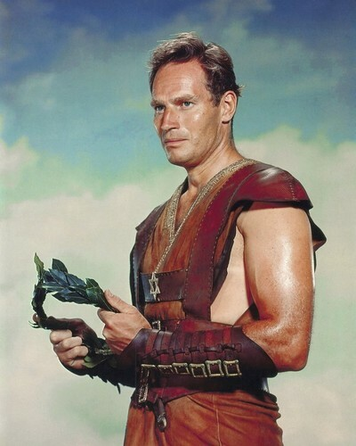 This is an image of Prints & Posters of Charlton Heston 201443