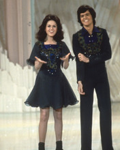 This is an image of Prints & Posters of Donny Osmond and Marie Osmond 201370