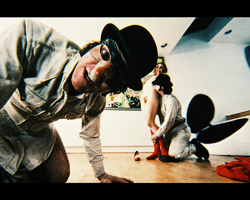 This is an image of 29938 A Clockwork Orange Photograph & Poster
