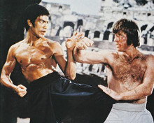 This is an image of 24814 Bruce Lee Photograph & Poster