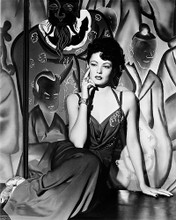 This is an image of 18570 Gene Tierney Photograph & Poster