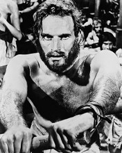 This is an image of 18822 Charlton Heston Photograph & Poster