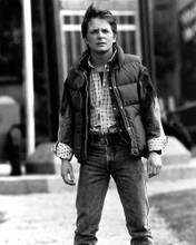 This is an image of 12309 Michael J.Fox Photograph & Poster