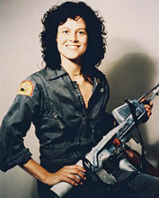 This is an image of 2672 Sigourney Weaver Photograph & Poster