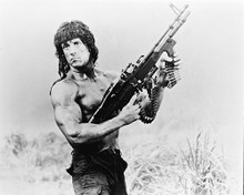 This is an image of 11300 Sylvester Stallone Photograph & Poster