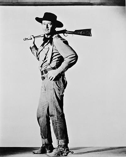 This is an image of 11444 John Wayne Photograph & Poster