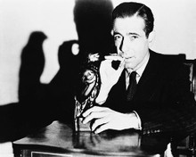 This is an image of 12109 Humphrey Bogart Photograph & Poster