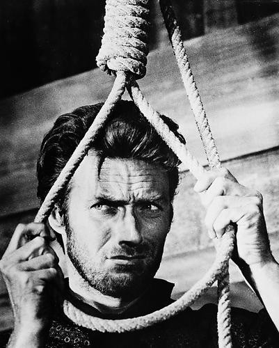 This is an image of 12124 Clint Eastwood Photograph & Poster