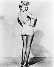 This is an image of 12130 Betty Grable Photograph & Poster