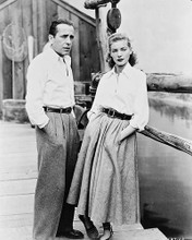 This is an image of 12387 Humphrey Bogart & Bacall Photograph & Poster