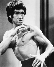 This is an image of 12579 Bruce Lee Photograph & Poster