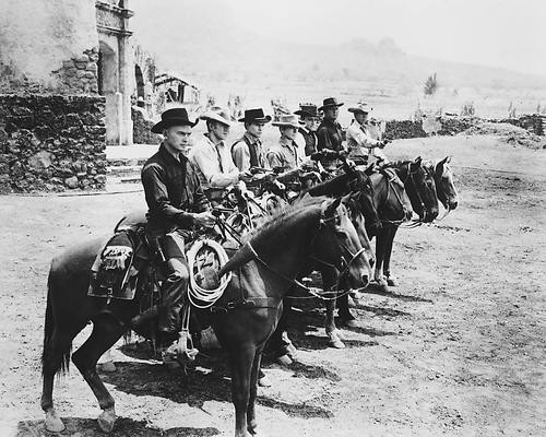 This is an image of 13465 The Magnificent Seven Photograph & Poster