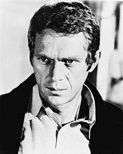 This is an image of 13475 Steve McQueen Photograph & Poster