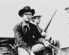 This is an image of 13669 The Magnificent Seven Photograph & Poster