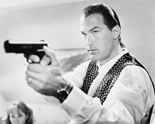 This is an image of 13958 Steven Seagal Photograph & Poster