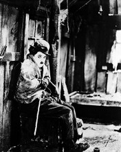 This is an image of 14035 Charlie Chaplin Photograph & Poster