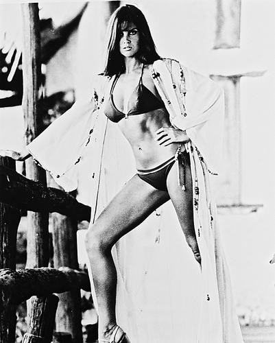 This is an image of 14155 Caroline Munro Photograph & Poster