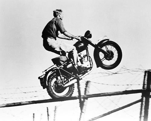 This is an image of 14414 Steve McQueen Photograph & Poster