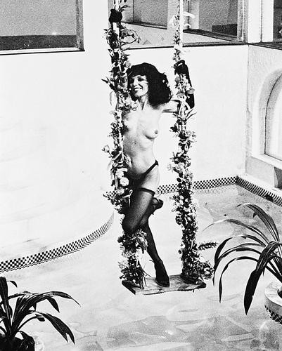 This is an image of 14548 Joan Collins Photograph & Poster