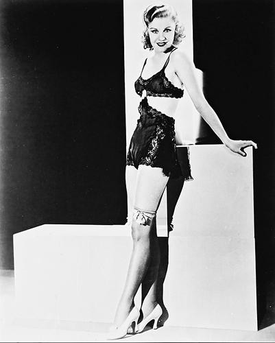 This is an image of 15224 Ginger Rogers Photograph & Poster