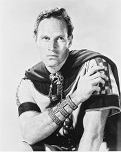 This is an image of 15691 Charlton Heston Photograph & Poster