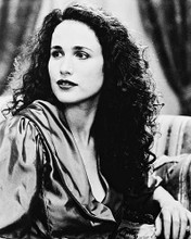 This is an image of 15935 Andie Macdowell Photograph & Poster