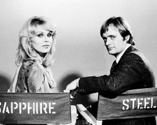 This is an image of 16276 Sapphire and Steel Photograph & Poster