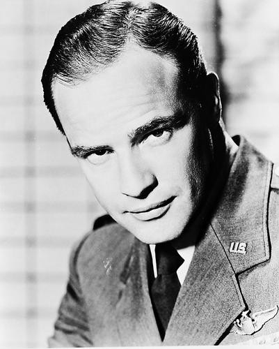 This is an image of 16332 Marlon Brando Photograph & Poster