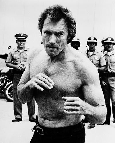 This is an image of 16750 Clint Eastwood Photograph & Poster