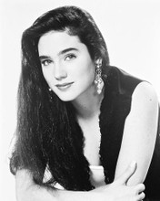 This is an image of 17146 Jennifer Connelly Photograph & Poster