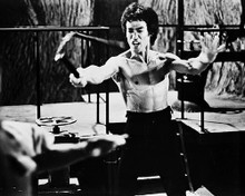 This is an image of 17607 Bruce Lee Photograph & Poster