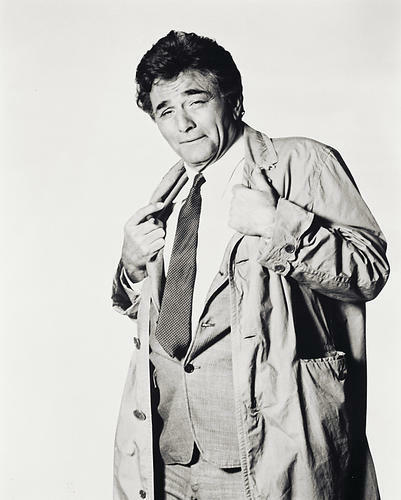 This is an image of 17755 Peter Falk Photograph & Poster