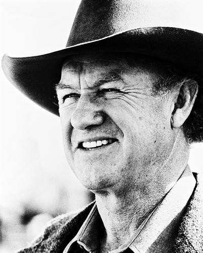 This is an image of 18306 Gene Hackman Photograph & Poster