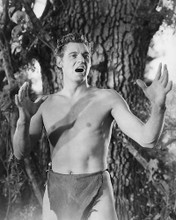 This is an image of 19399 Johnny Weissmuller Photograph & Poster