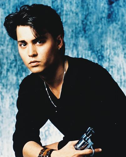 This is an image of 22921 Johnny Depp Photograph & Poster