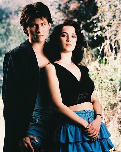 This is an image of 23359 Winona Ryder Photograph & Poster