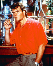 This is an image of 23844 Patrick Swayze Photograph & Poster