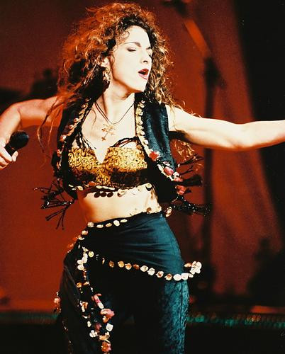 This is an image of 24018 Gloria Estefan Photograph & Poster