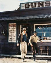This is an image of 24404 John Wayne & Dean Martin Photograph & Poster