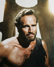 This is an image of 24584 Charlton Heston Photograph & Poster