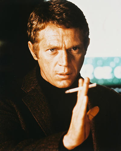 This is an image of 25116 Steve McQueen Photograph & Poster