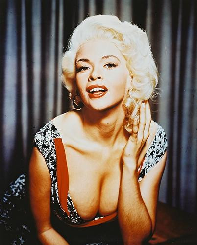 This is an image of 25635 Jayne Mansfield Photograph & Poster