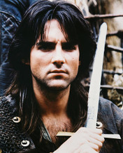 This is an image of 25655 Michael Praed Photograph & Poster