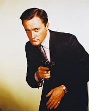 This is an image of 26303 Robert Vaughn Photograph & Poster