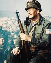 This is an image of 26494 John Wayne Photograph & Poster