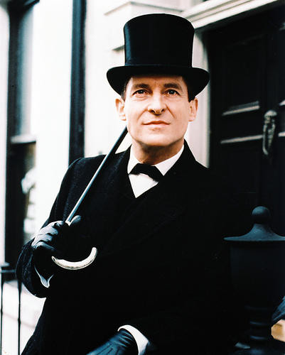 This is an image of 26612 Jeremy Brett Photograph & Poster
